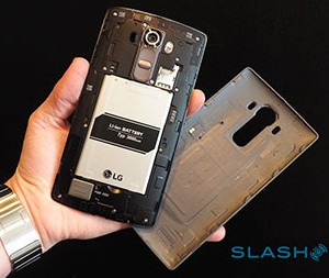 La faible batterie du LG G4
